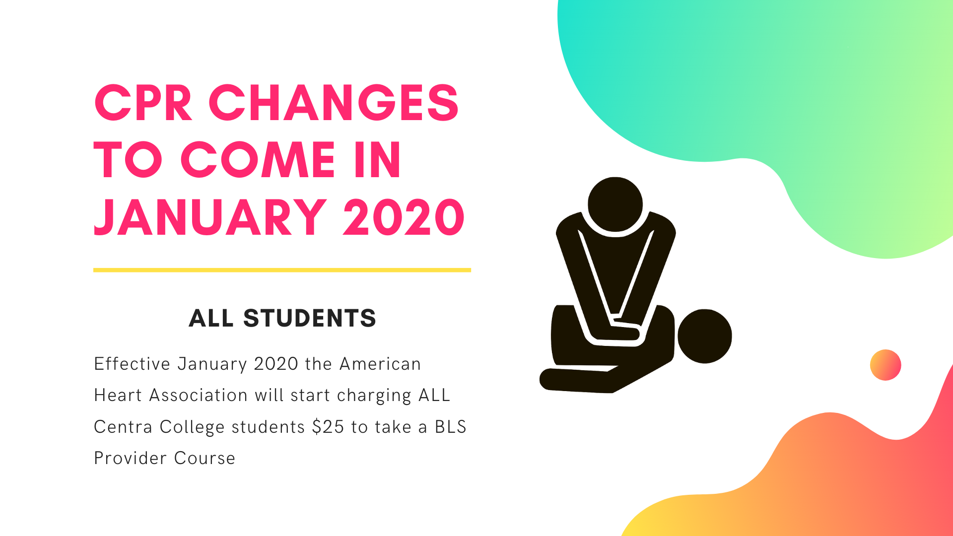 CPR changes coming January 2020